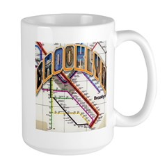 brookly logo Mugs