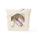 brookly logo Tote Bag