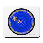 Torah, The Target Of God Mousepad