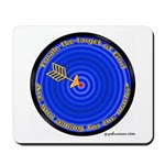 Torah, The Target Of God Mousepad