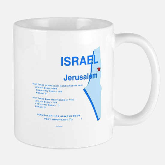 Jerusalem in the Major Religions Mugs