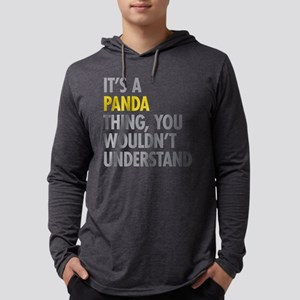 Its A Panda Thing Long Sleeve T-Shirt