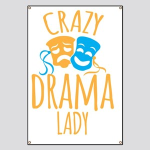 Crazy DRAMA LADY Banner