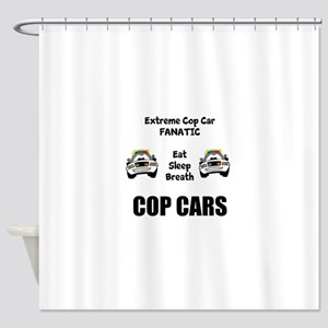 Cop Cars Shower Curtain