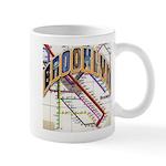brookly logo Mugs