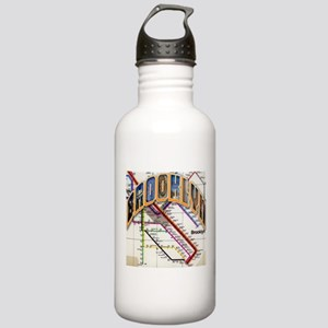 brookly logo Water Bottle