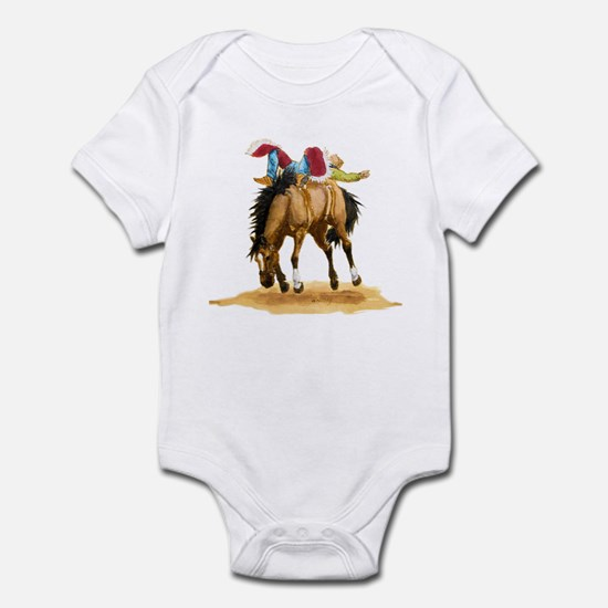 Bare Back Bronc Bay Infant Bodysuit