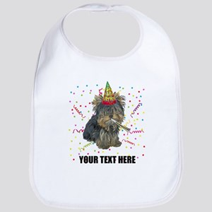 Custom Yorkie Birthday Bib