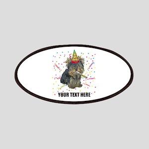 Custom Yorkie Birthday Patch