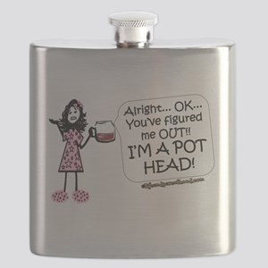 Coffee POT HEAD Flask