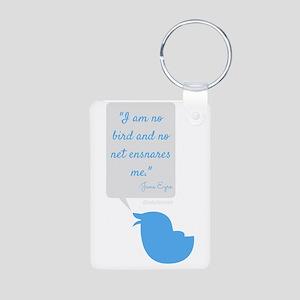 I'm No Bird Jane Eyre Tweet Keychains