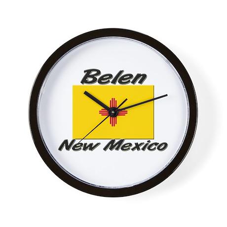 Belen New Mexico Wall Clock