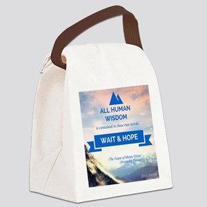 Wait & Hope Canvas Lunch Bag