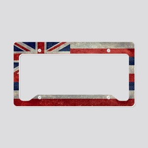 State Flag of Hawaii,  retro  License Plate Holder
