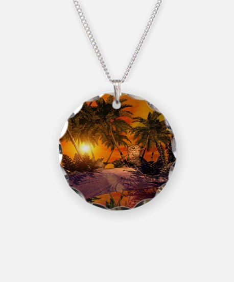 Sunset on the beach Necklace