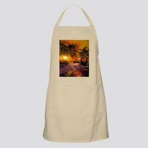 Sunset on the beach Apron