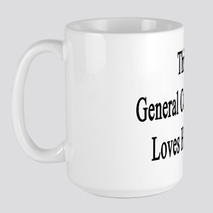 This General Contractor Loves Her Job  Large Mug