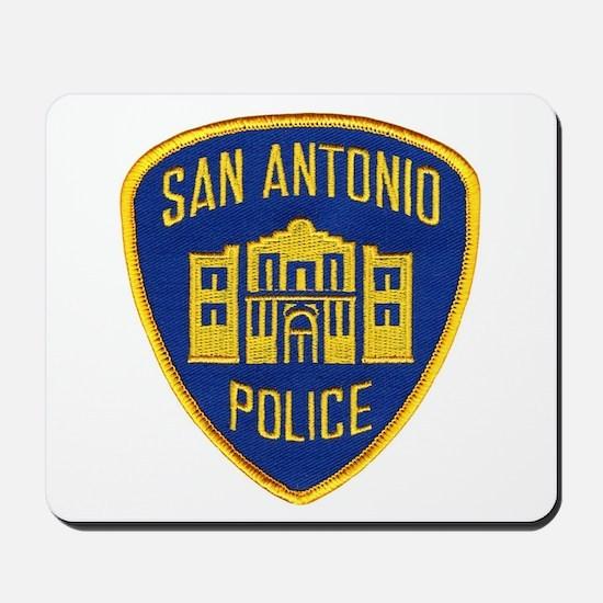 San Antonio Police Mousepad