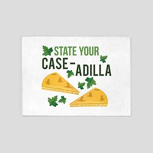 Your Case-adilla 5'x7'Area Rug