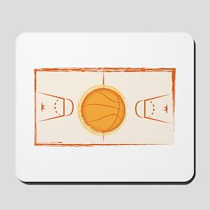 Basketball Court Mousepad