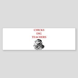 teachers Bumper Sticker
