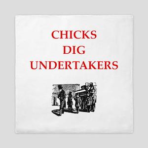 undertaker Queen Duvet