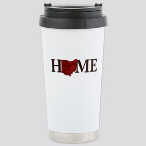 Ohio State Home Stainless Steel Travel Mug
