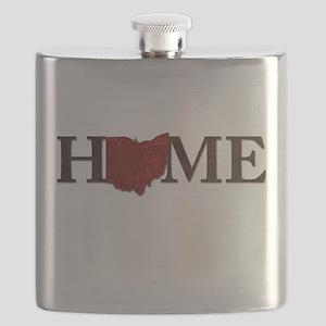 Ohio State Home Flask