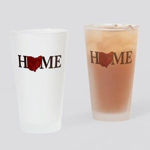 Ohio State Home Drinking Glass