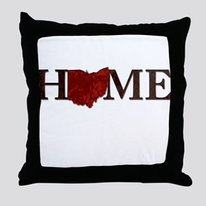 Ohio State Home Throw Pillow