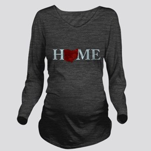 Ohio State Home Long Sleeve Maternity T-Shirt