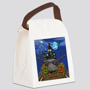 Enter If You Dare Canvas Lunch Bag