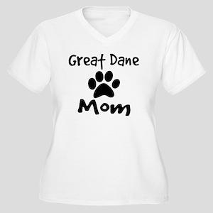 Great Dane Mom Plus Size T-Shirt