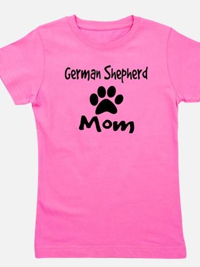 German Shepherd Mom Girl's Tee