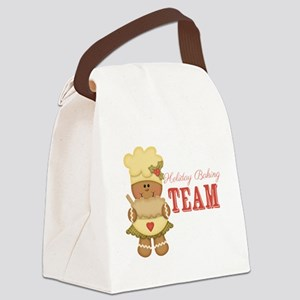 Holiday Baking Team Canvas Lunch Bag