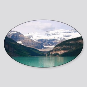 mountain landscape lake lou Sticker