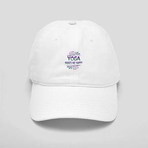 Yoga Makes Me Happy Cap