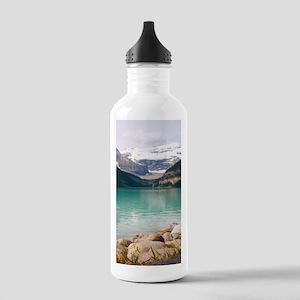 mountain landscape lak Stainless Water Bottle 1.0L