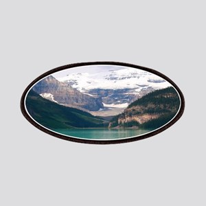 mountain landscape lake louise Patch