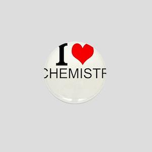 I Love Chemistry Mini Button
