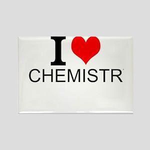 I Love Chemistry Magnets