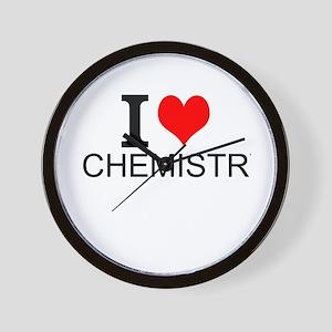 I Love Chemistry Wall Clock