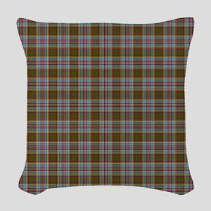 Clan Anderson Tartan Woven Throw Pillow