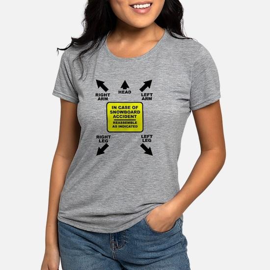 Reassemble Snowboarding Snowboard Funny T-Shirt T-
