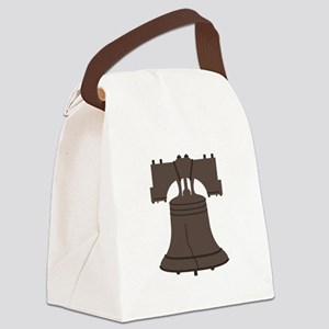 Liberty Bell Canvas Lunch Bag