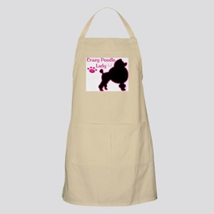 Crazy Poodle Mom Apron