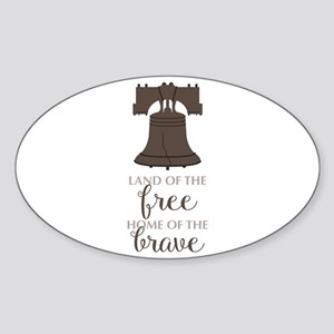 Land Of Free Sticker