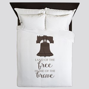 Land Of Free Queen Duvet