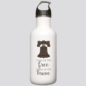 Land Of Free Water Bottle