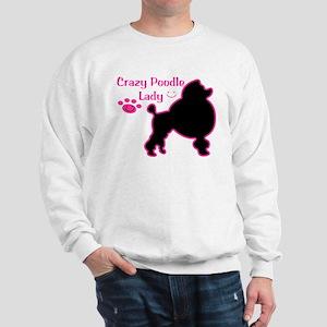 Crazy Poodle Lady Sweatshirt